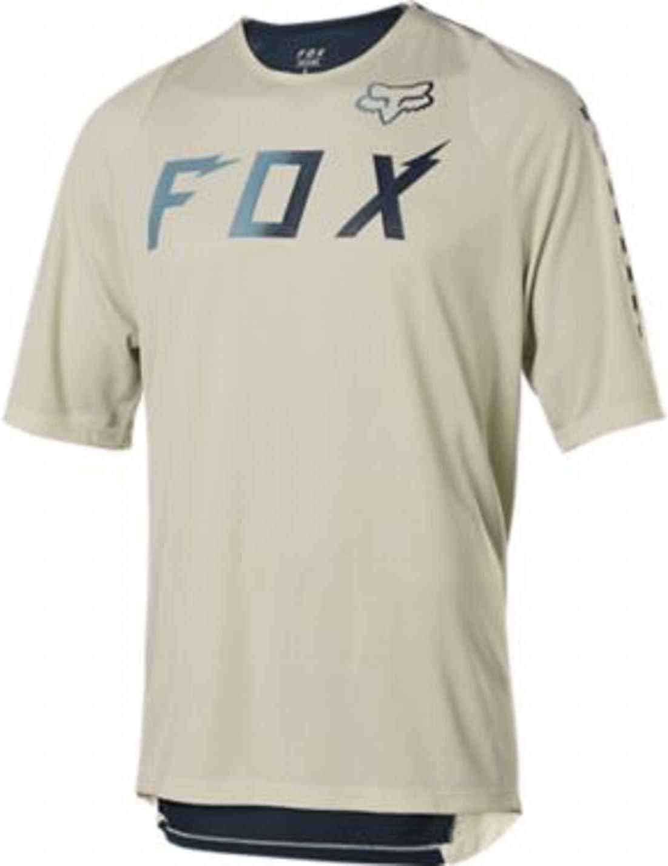 FOX MTB-Jersey Kurzarm Defend Wurd Navy