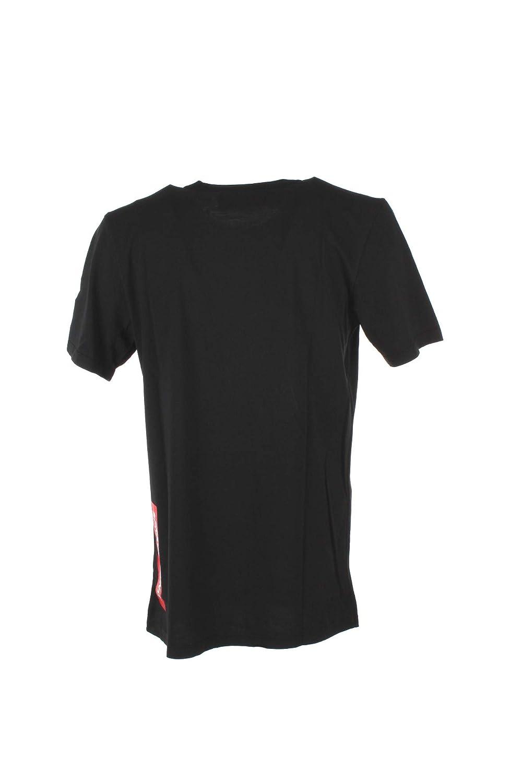 Sprayground T-Shirt Uomo S Nero 9100t002 Autunno Inverno 2018//19