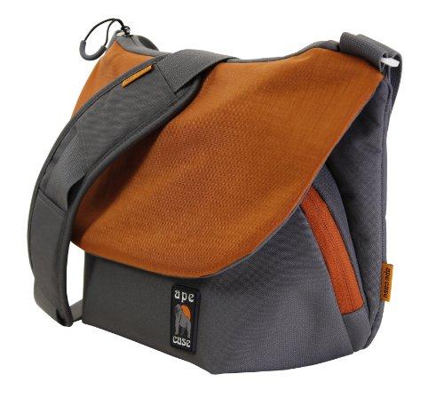 Ape Case, Messenger bag, Large, Orange, Camera insert includ