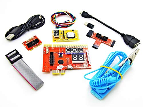 (New Latest PCIe USB Complete Pc Laptop Computer Android Smartphone Motherboard Quick Repair Diagnostic Analyzer Post Test Cards Kit )