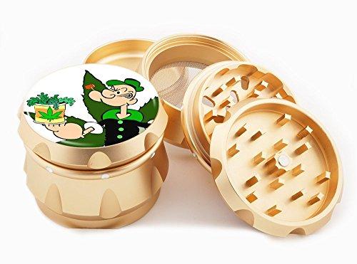 popeye-design-premium-grade-aluminum-tobaccoherb-grinder-4pcs-large-25-gold-gld-g50-82515-5