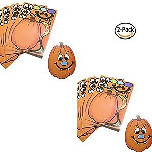 24 Make A Pumpkin Stickers (2 DOZEN) - BULK (2)
