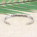 Joycuff Inspirational Bracelets Fight Cancer