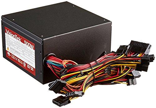 VisionTek 500W Internal Power Supply Black 900346