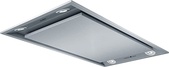 Bosch DID09T951 - Campana (Recirculación, 780 m³/h, A, Empotrable en techo, LED, Acero inoxidable): Amazon.es: Grandes electrodomésticos