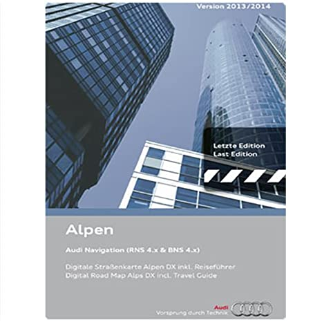 audi 4d0060884bj navigation cd alpen 13 14 d bns 4 x with travel rh amazon co uk Instruction Manual Example User Manual PDF