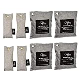 Best Car Odor Removers - 8 Pack - Charcoal Deodorizer Gym Bag Review