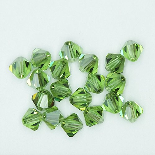 4mm Peridot Satin - 2