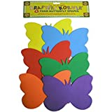 72 6 Pack foam butterfly craft shapes
