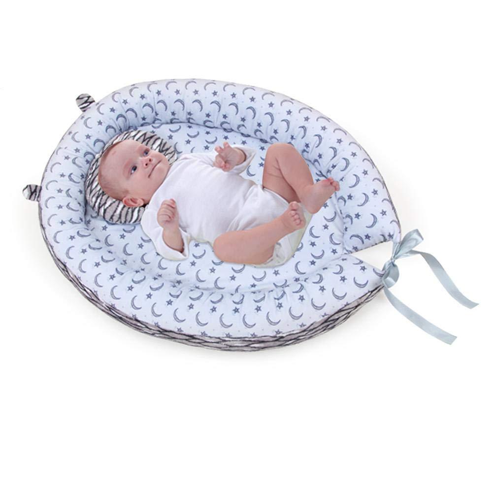 Eternitry Baby Nest Wiegenbett Kinderbett Crown Lounger Krippen Neugeborenen Abnehmbare Kinderbett Cocoon Schlaf Pod Tragbare Reisen Schlaf Pad