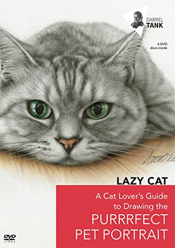 Cat Purrrfect (Lazy Cat: A Cat Lover's Guide to Drawing the Purrrfect Pet Portrait)