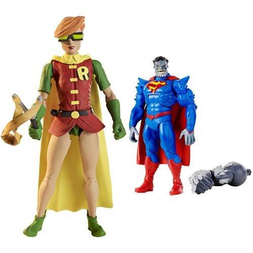 """DC Comics Multiverse Robin Figure and Superman: Doomed 6"""" Figure Bundle"""