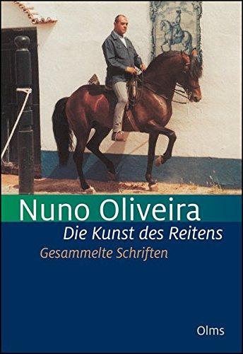 30 Jahre Aufzeichnungen /& Briefwechsel mit Maitre Nuno Oliveira NEU Olms Verlag