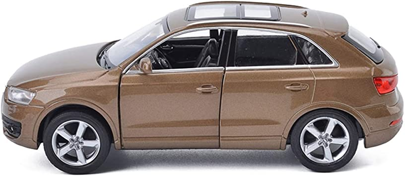 SUV Modello di Auto Auto Giocattolo per Bambini Porta pu/ò Essere Aperto con Luci Effetti Sonori Zfggd Simulazione 1:32 Ti-guan L Modello di Auto in Lega Color : Orange