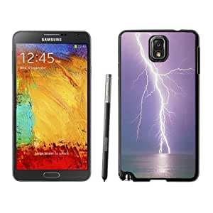 New Personalized Custom Designed For Samsung Galaxy Note 3 N900A N900V N900P N900T Phone Case For Bright Lightening Over The Sea Phone Case Cover
