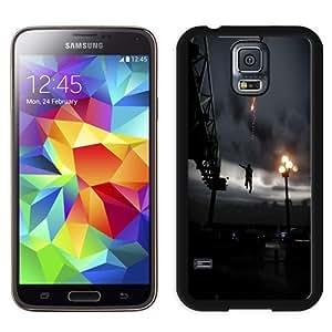 Fashionable Custom Designed Samsung Galaxy S5 I9600 G900a G900v G900p G900t G900w Phone Case With Infamous Smoke Ability Jump City_Black Phone Case