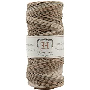 Hemptique Cord Spool 20-Pound, Earthy