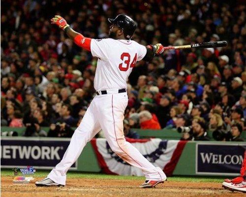 David Ortiz Boston Red Sox 2013 World Series Game 1 HR Photo 8x10 (David Ortiz Poster)