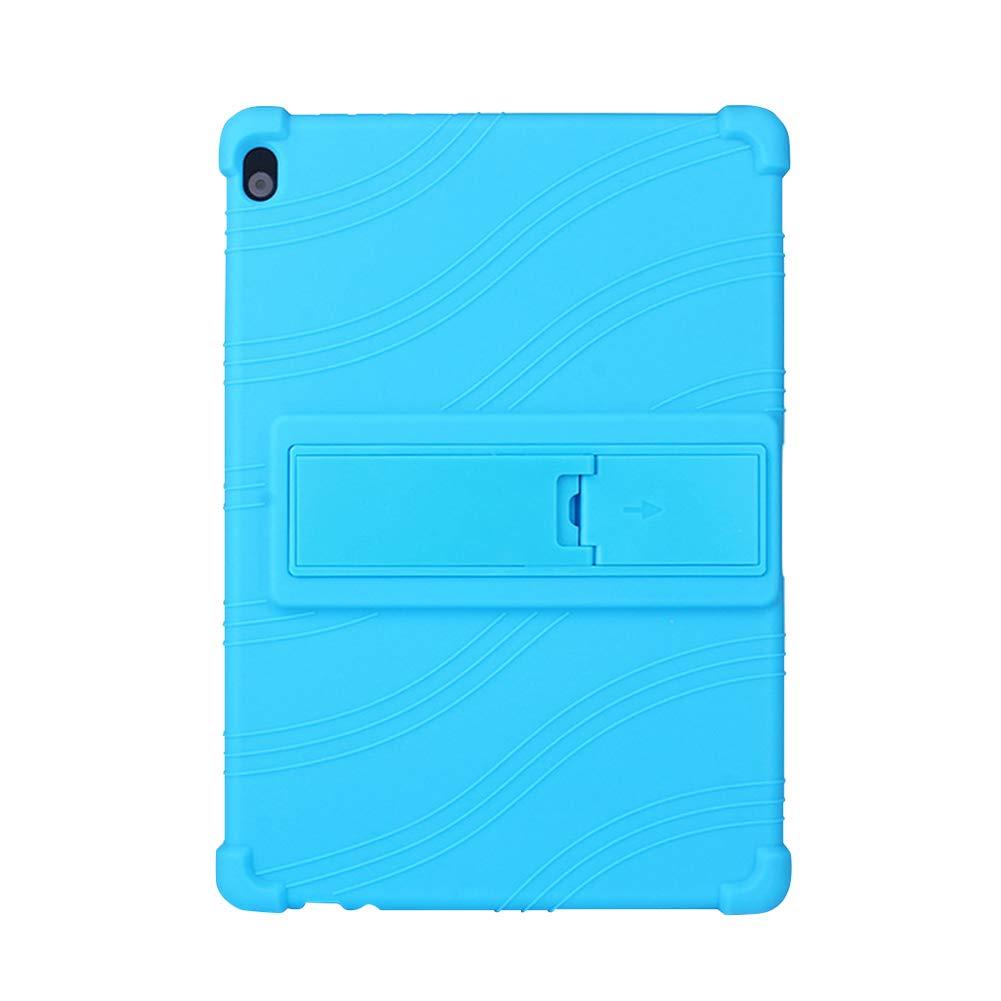Yudesun Funda para Lenovo Tab P10 M10 P10 TB-X705F // M10 X605 10.1 Tablet Silicona Suave Skin Soporte Bolsa Ligero Caucho Fundas Blandas Protector para Lenovo Tab