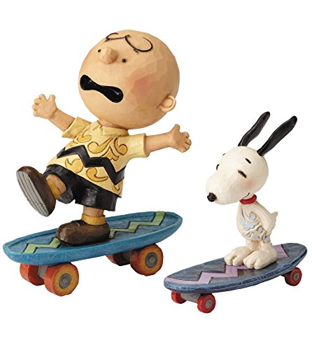 チャーリー・ブラウン&スヌーピー スケーティング 「PEANUTS(SNOOPY)」 ジム・ショアシリーズ スタチューの商品画像