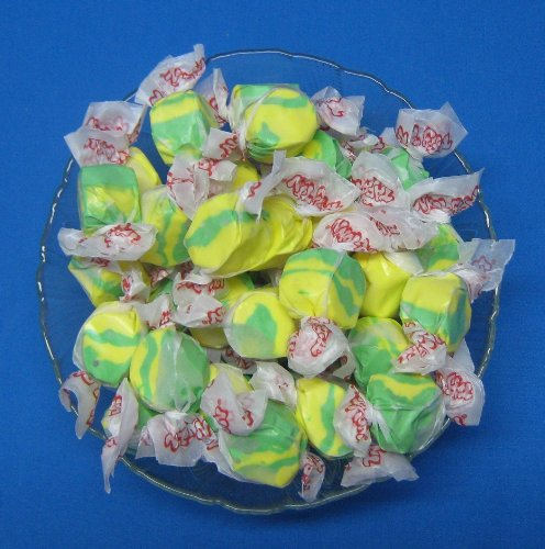 Pineapple Flavored Taffy Town Salt Water Taffy 1 Pound