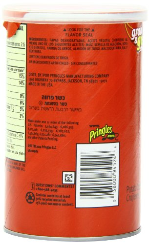 038000845246 - Pringles Original Grab and Go Pack, 2.36 Ounce (Pack of 12) carousel main 3