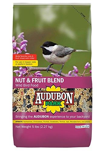 Audubon Park 12226 Nut and Fruit Blend Wild Bird Food, 5-Pounds