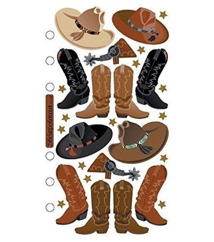 (Sticko Stickers-Cowboy Hats & Boots)