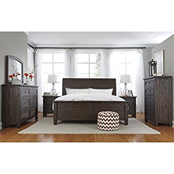 Ashley Trudell 5 Pieces Reine D Ensemble De Chambre A Coucher En