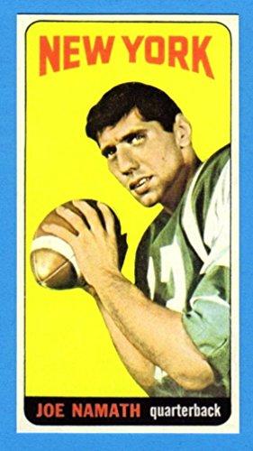 Joe Namath 1965 Topps Football Rookie Reprint Card (Tall Boy) - Team Best 1999 Card Rookie