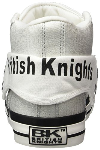 Silver Ice 01 British Donna Argento Alte Knights Roco Sneaker aqwHaP