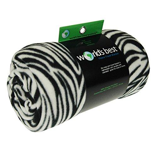 Zebra Throw Blanket - 2