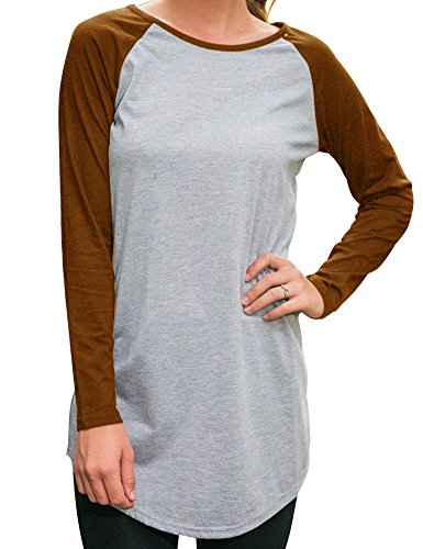 Allegrace Sleeve T shirt Blouse Casual