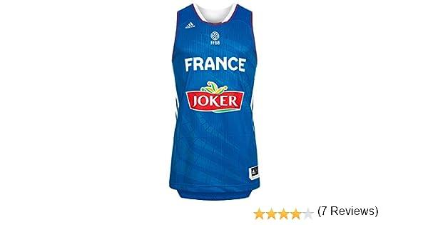 5ab0c4f5b adidas Francia Camiseta de Baloncesto Selección