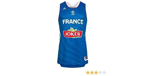 adidas Francia Camiseta de Baloncesto Selección, NBA, Todo el año ...