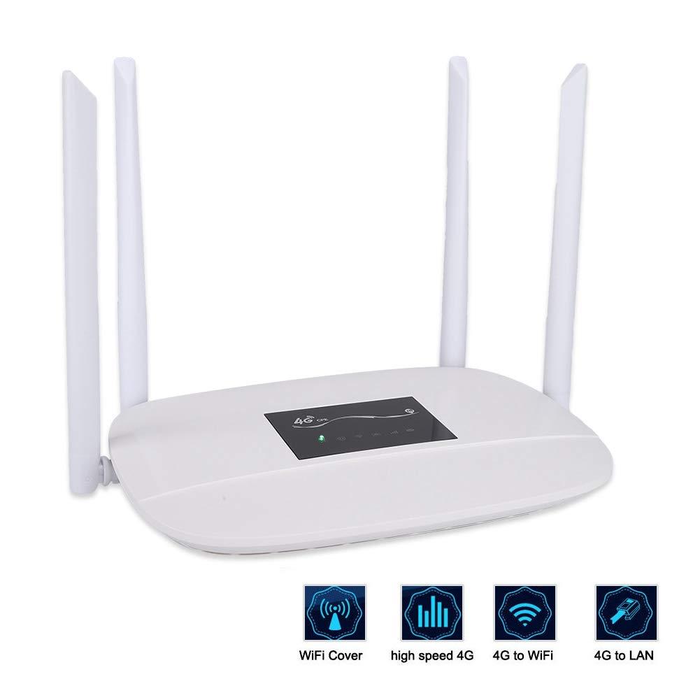 Mugast Enrutador WiFi inalámbrico Cobertura WiFi de Larga ...
