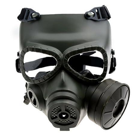 Mask M04 - máscara de gas (con filtro, cara completa., negro: Amazon.es: Deportes y aire libre