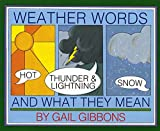 img - for Weather Words and What They Mean book / textbook / text book