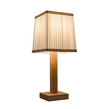 lo Bueno lámpara de Mesa Lámpara de Mesa de Madera Simple ...