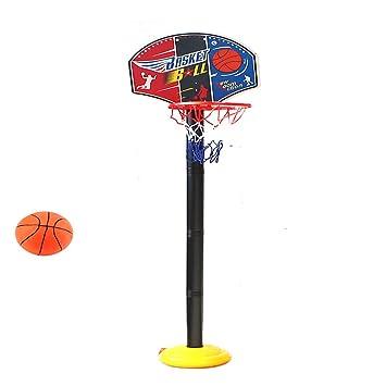 2m Kinder Mini Basketballkorb mit ständer Basketballständer Basketballnetz Set
