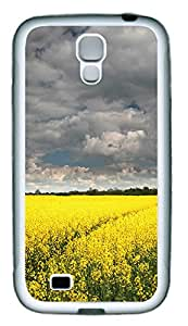 Samsung S4 Case European Canola Flower TPU Custom Samsung S4 Case Cover White
