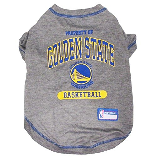 NBA GOLDEN STATE WARRIORS Dog T-Shirt, Small