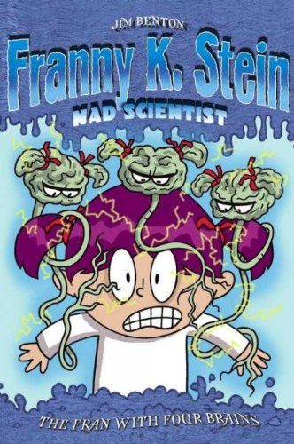 Lot (2) Franny K. Stein Mad Scientist books in BRAILLE (Lunch Walks Among Us; The Fran With Four Brains) ebook