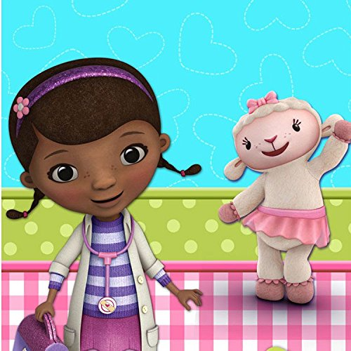 Amscan Doc McStuffins Table Cover (Each) - Party Supplies ()
