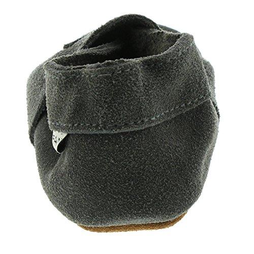EN FANT 813110 Elastic Slipper Suede Grau