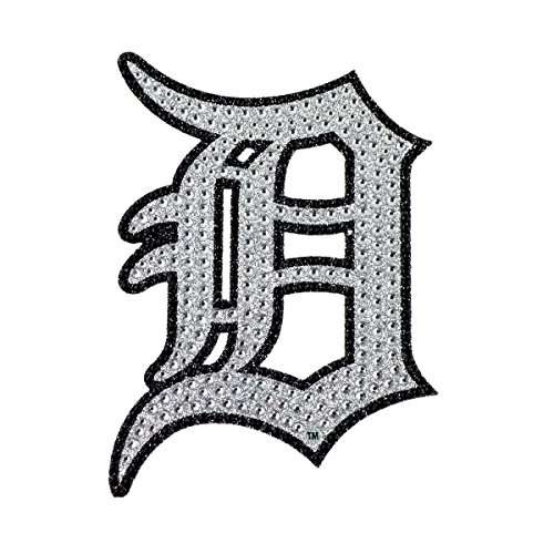 Detroit Tigers Mlb Decal (Team ProMark MLB Detroit Tigers Bling Emblem, One Size, One Color)