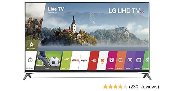 Amazon Com Lg Electronics Uj K Ultra Hd Smart Led Tv  Model Electronics