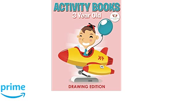 activity books 3 year old drawing edition activity book zone for kids 9781683762577 amazoncom books