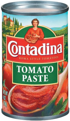 Contadina Tomato Paste, 6-Ounce (Pack of (Tomato Paste Brands)