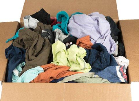RagLady リサイクルラグ 色付きスウェットシャツ 18インチ x 18インチ 40ポンド 箱入り B077Y58F3V